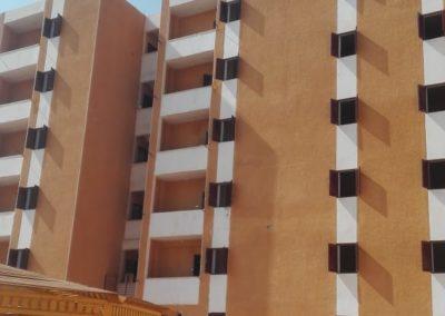مبنى المدينة الجامعية بمدينة أسوان الجديدة – جامعة أسوان
