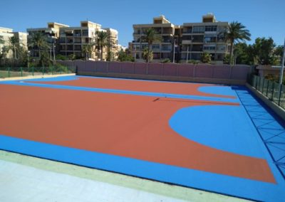 ملاعب متعددة الاغراض بكلية التربية الرياضية بنين – جامعة الاسكندرية