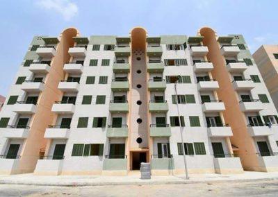 عمارات سكنية بالنهضة (المحروسة) – حى السلام