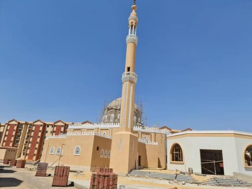 مشروع معا لتطوير العشوائيات ( المسجد )